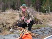 I love to Grouse hunt while hunting for Antler Sheds.  I have found over 200 Antler Sheds in about five years.  I enjoy Antler Shed Hunting more than hunting.  Hunting is not about killing for me; it is about the experience in the wilds of the world.