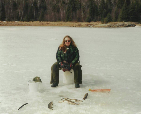 Ice Fishing Walleye and Pike