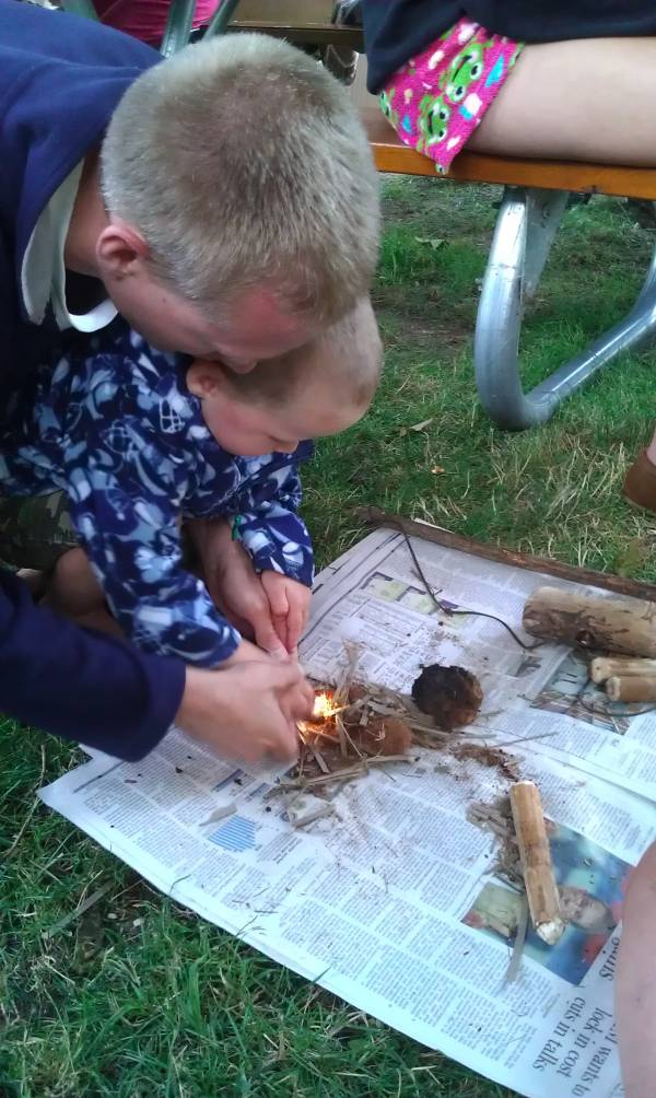 Primitive Fire Making